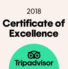 TripAdvisor Certificato di Eccellenza